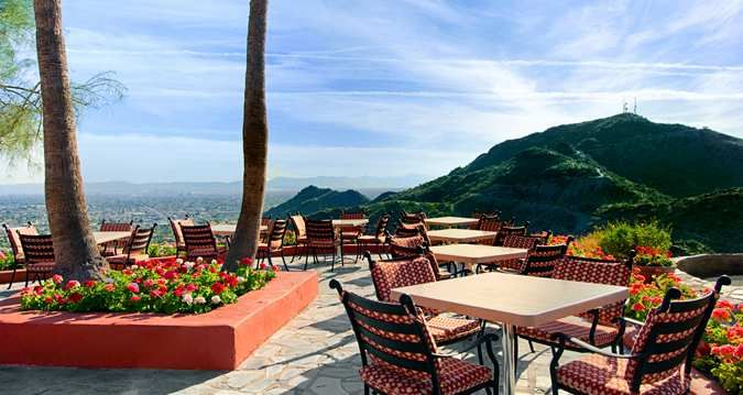 Pointe Hilton Tapatio Cliffs Resort, Phoenix, AZ - The Terrace Mountain View