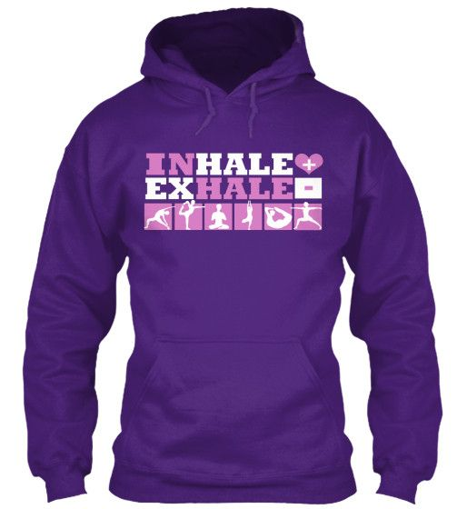 Yoga - Inhale Exhale Hoodie