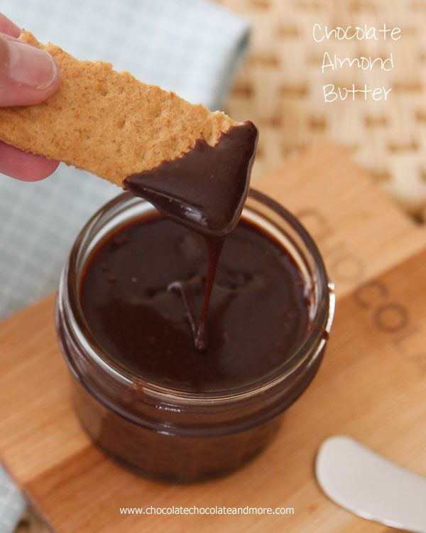 Homemade Chocolate Almond Butter