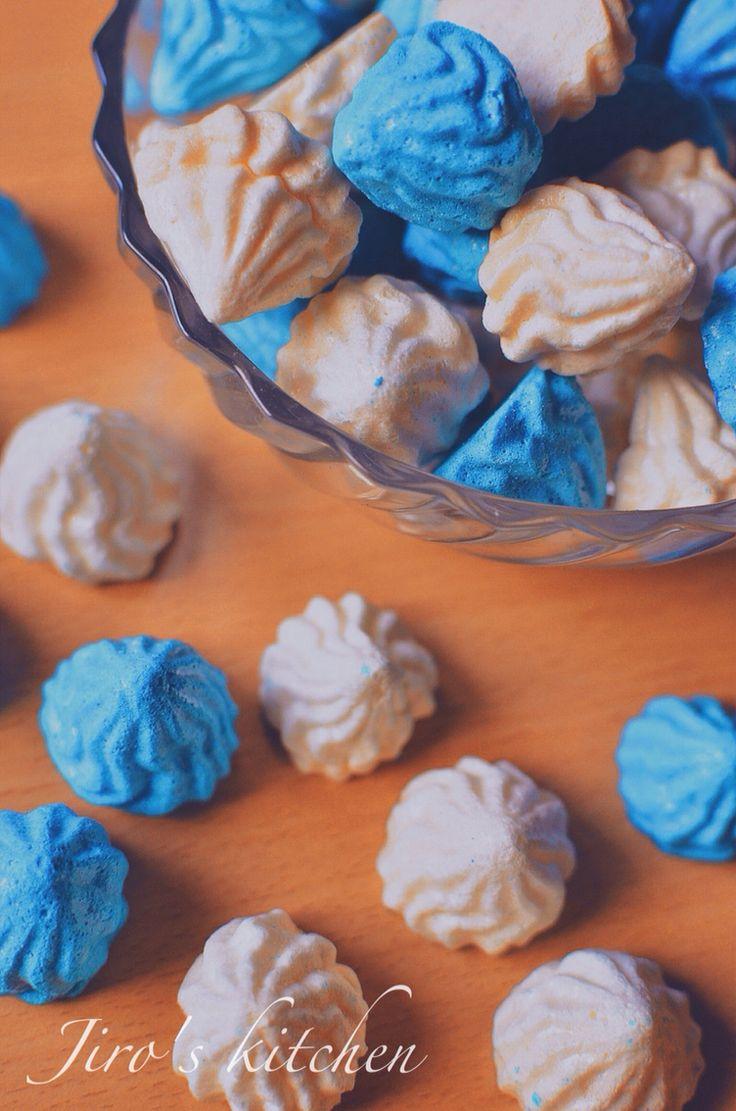 Meringue Cookies #meringue #cookies