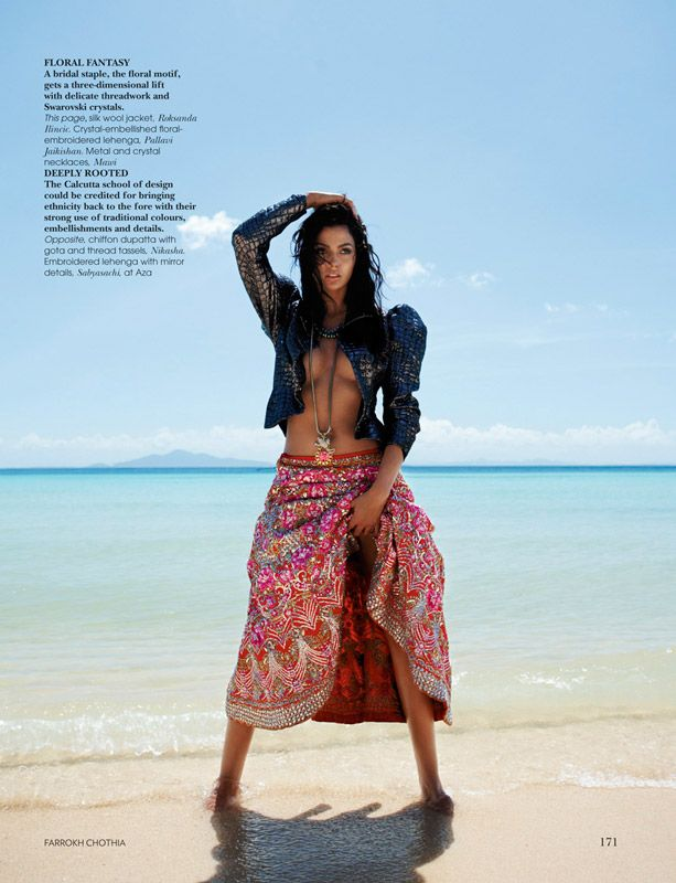 Vogue - Bride On The Loose : Farrokh Chothia