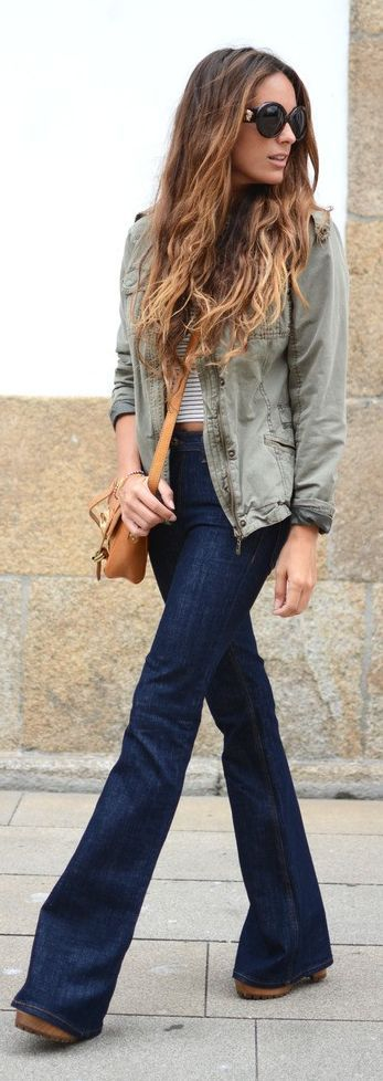 Flared Jeans Outfit by Stellawantstodie