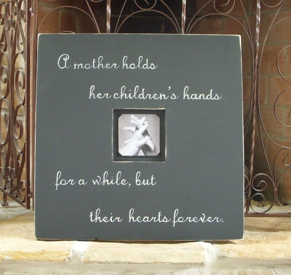 Baby Picture Frames With Quotes   secondtofirst.com