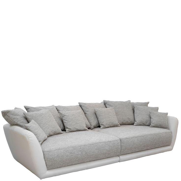 BIG Sofa Arizona Sofa Kunstleder Weiß Webstoff Grau Jetzt bestellen unter: https://moebel.ladendirekt.de/wohnzimmer/sofas/bigsofas/?uid=22768445-5363-52b4-9f33-12f7591cae88&utm_source=pinterest&utm_medium=pin&utm_campaign=boards #sofa #garnitur #postermöbel #einzelsofa #bigsofas #günstig #sofas #kaufen #schlafsofa #online #sitzecke #wohnzimmer #sessel