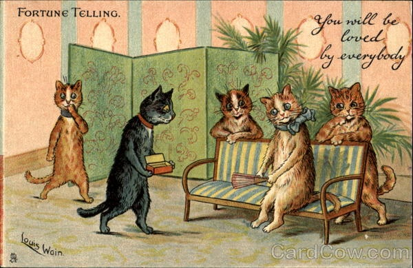 """Fortune Telling - """"You will be loved by everybody.""""  