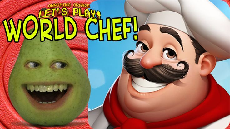 Pear Forced to Play - World Chef