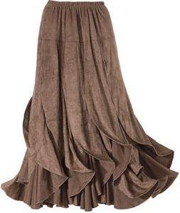 Gypsy skirt.
