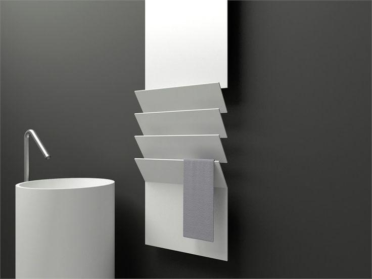 Scaldasalviette in alluminio FLAPS Linea Griffe by ANTRAX IT | design Victor Vasilev
