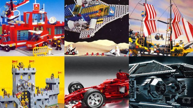 To end the celebration of the 50 years of the LEGO brick, here are the best sets in history. Handpicked from Lugnet—the biggest LEGO database—based on their popularity, these 229 sets belong to the most iconic lines—LEGOLAND Space, Town, Castle and Pirates—plus three of the most popular ones—LEGO TECHNIC, Star Wars and Racers. From the most significant to the most amazing and complex, from the late '70s to today. We can't get ourselves to pick the Best of the Best. Jump, see t...