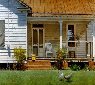 old porches have so much character and the stories they could tell: Old House, Farms House, Country Porches, Country Living, Farmhouse, Screens Doors, Country Life, Doug Strickland, Front Porches