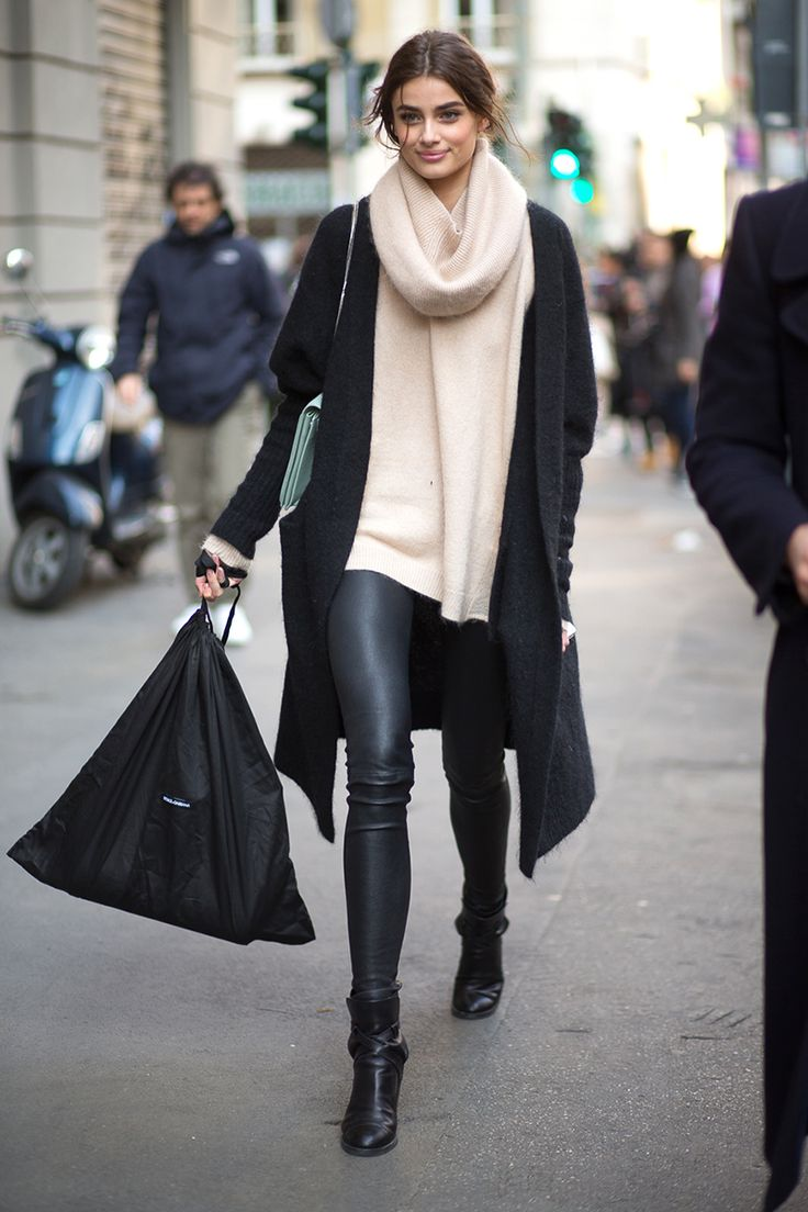 The Best Milan Fashion Week Street Style: Fall 2015  - HarpersBAZAAR.com