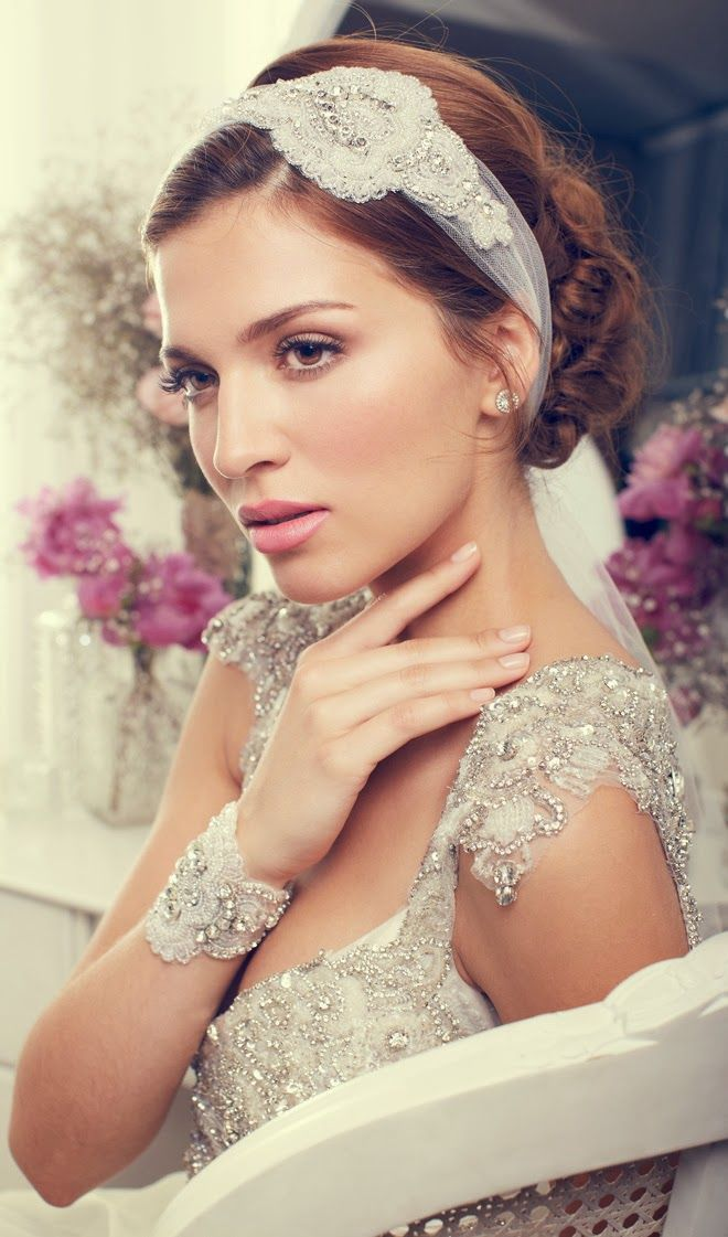 Bridal Accessories by Anna Campbell 2013 Collection | bellethemagazine.com #weddings