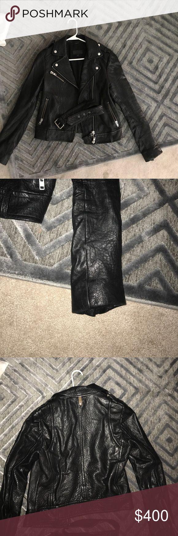 MACKAGE WOMENS LEATHER JACKET SMALL MACKAGE Womens Leather jacket SMALL GOES PERFECT WITH ANYTHING Mackage Jackets & Coats Utility Jackets