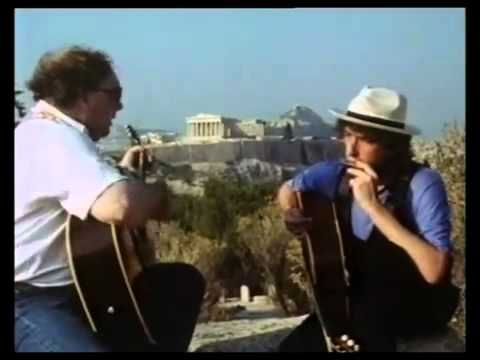 Van Morrison and Bob Dylan in Athens