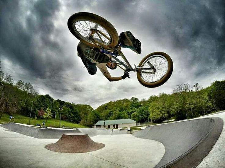 Fun at the skate park