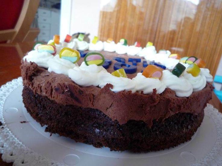 Makový dortík se švestkovou čokoládou jako náplast na nervy