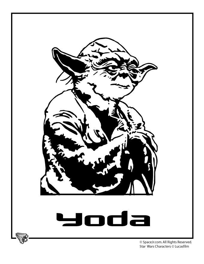 Star Wars Coloring Pages starwarscoloringyoda