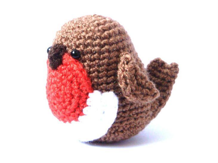 Free+Crochet+Ninja+Amigurumi+Patterns   Home / Downloads / Crochet Amigurumi Pattern – Robin – Bird