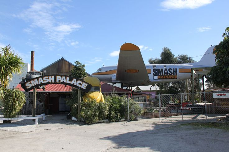 Smash Palace Gisborne  a great place for a drink - a neat live music venue. 29 Banks Street in the Industrial Subdivision. Phone 867 7769