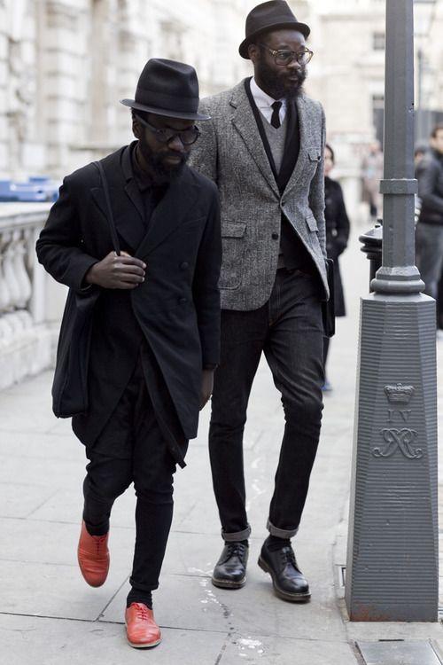 theclassyissue: Sam Lambert & Shaka Maidoh (Art Comes First) London, 2011