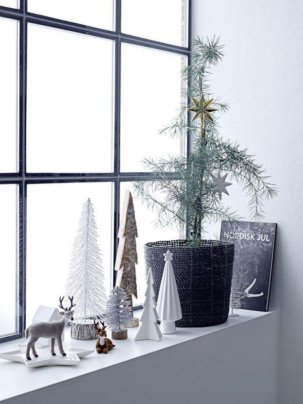 Weihnachtsdeko von Bloomingville: Cool & skandinavisch schlicht. (Foto bloomingville) http://landhaus-look.de/bloomingville-weihnachten-skandinavisch-cool/