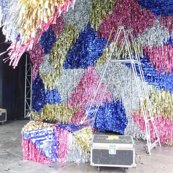 confetti system for sugar mountain festival