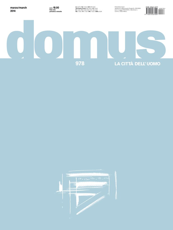 Domus 978, March 2014