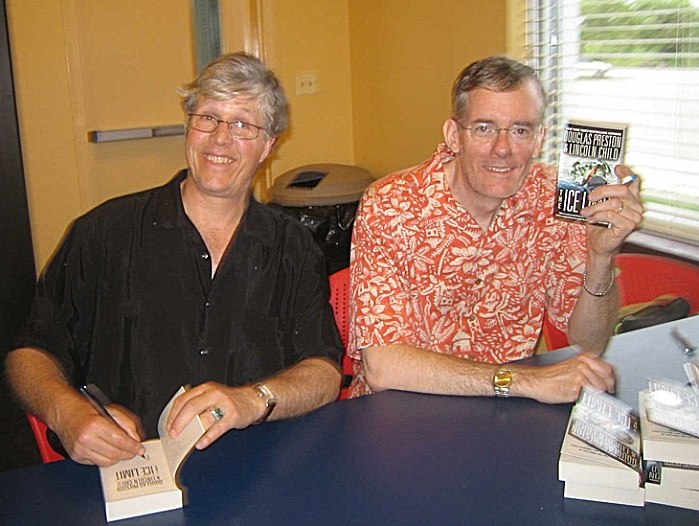 Douglas Preston & Lincoln Child - amazing authors!!