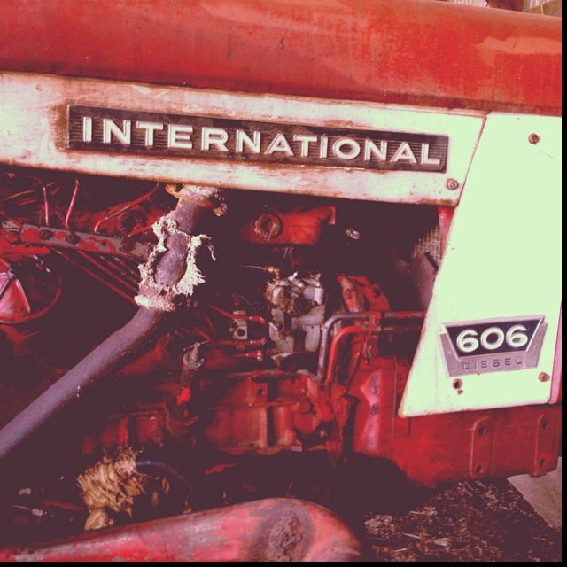 Old International tractor- by Jessica R. Jones