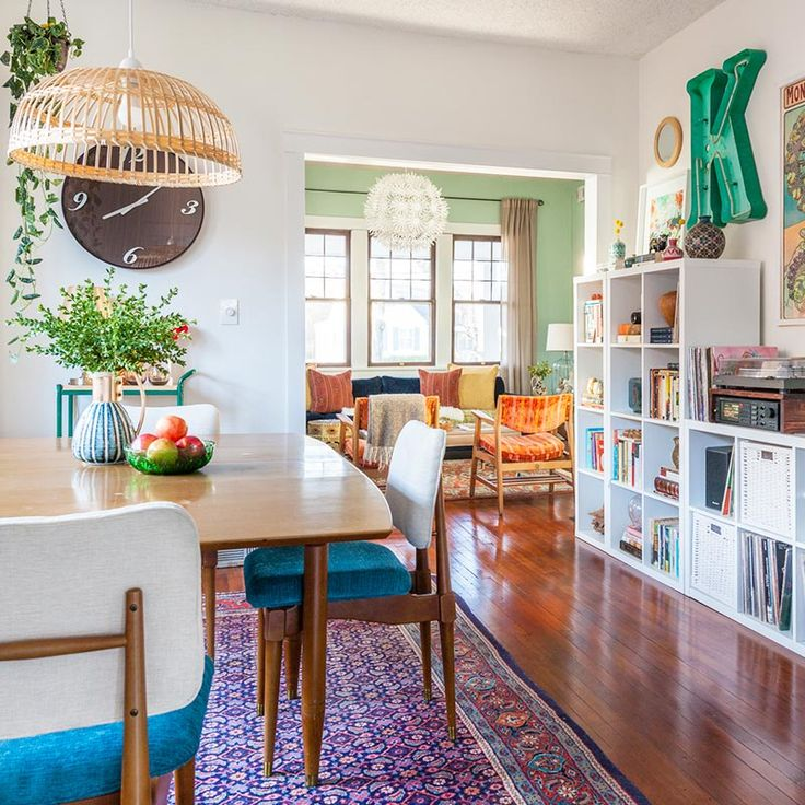 Experimental Decorating Enlivens a Missouri Craftsman | Design*Sponge