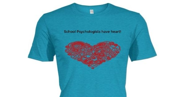 School Psychologists have heart!  Check out this awesome Shani's Heart Ablation Fund shirt!