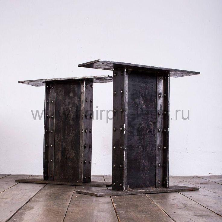 """Опоры для стола """"Steampunk"""" - невероятно мощные. Смотрятся очень стильно... Под заказ в Москве или с доставкой по России. Подробнее можно посмотреть на нашем сайте www.hairpin-legs.ru    #steampunk  #стимпанк  #лофт  #loft  #столлофт  #подстолье  #стол  #барныйстол  #мебельдлябаров  #мебельназаказ  #мебельизметалла  #индустриальныйстиль  #мебельлофт  #лофтинтерьер  #designloft   #loftfurniture  #lofttable  #bartable  #minimalism  #industrial  #table  #tablebase"""
