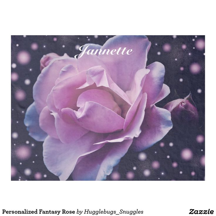 Personalized Fantasy Rose