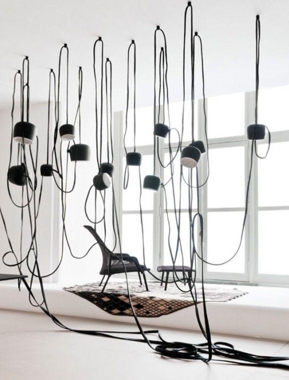 Actu déco MyHomeDesign ; les frères Bouroullec aux Arts décoratifs Lampe AIM pour Flos