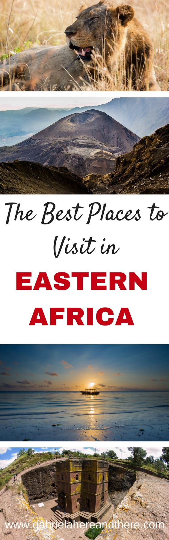 The Best Places to Visit in Eastern Africa. Including places in Malawi, Mozambique, Kenya, Tanzania, Rwanda, Uganda, Ethiopia, Comoros, and Djibouti.