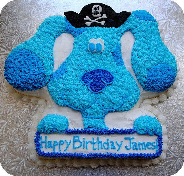 My cousin's Plagiarist Blues Clues cake