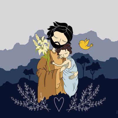 SÃO JOSÉ COM MENINO JESUS