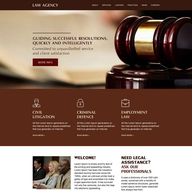 Best Law Agency Responsive Website Design Attorney Lawyer Lawyers Lawmaker Criminallawyer Law Firm Website Lawyer Website Design Law Firm Website Design