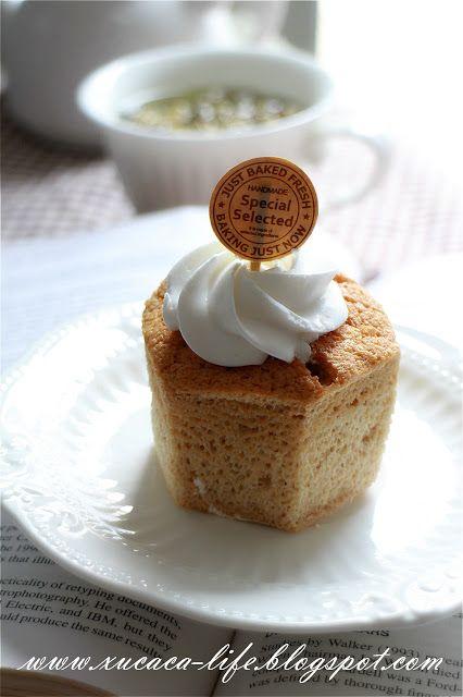 Butter Flour & Me Love Xinlingzhiyue: Hokkaido chiffon cup of coffee (Coffee Hokkaido Chiffon)