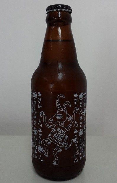 Cerveja Bodebrown Have a Nice Beer Witbier, estilo Witbier, produzida por Cervejaria Bodebrown, Brasil. 5.2% ABV de álcool.