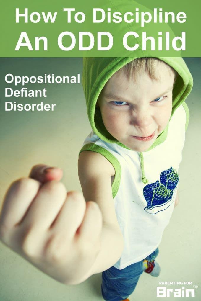 Oppositional Defiant Disorder #ODD Treatment & Discipline #Parenting #parentingforbrain