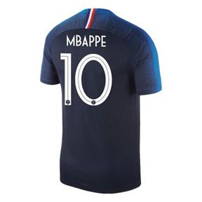 09cbd5d1a93 Nike Youth France Mbappe  10 World Cup 2018 Jersey (Home)