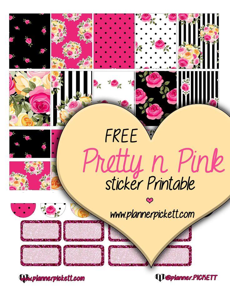 @planner.PICKETT: Betsy Inspired Free Planner Sticker Printable for ec eclp, Erin condren, happy planner, mambie planner, kikki k planner, filofax planners, 1407 planners, plum planner, life planners and more