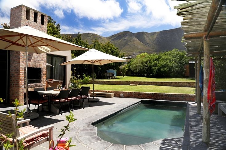 Chiappini Street: Private Pool. FIREFLYvillas, Hermanus, 7200 @fireflyvillas ,bookings@fireflyvillas.com,  #ChiappiniStreet #FIREFLYvillas #HermanusAccommodation