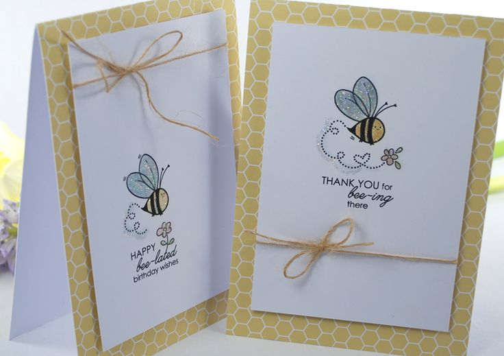 Buzzy Little Bees Digital Image Stamps.