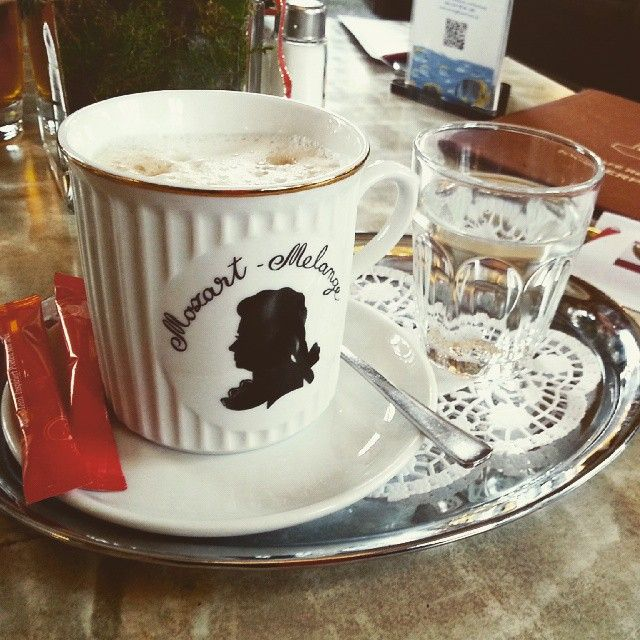 Coffee at Schonbrunn Palace