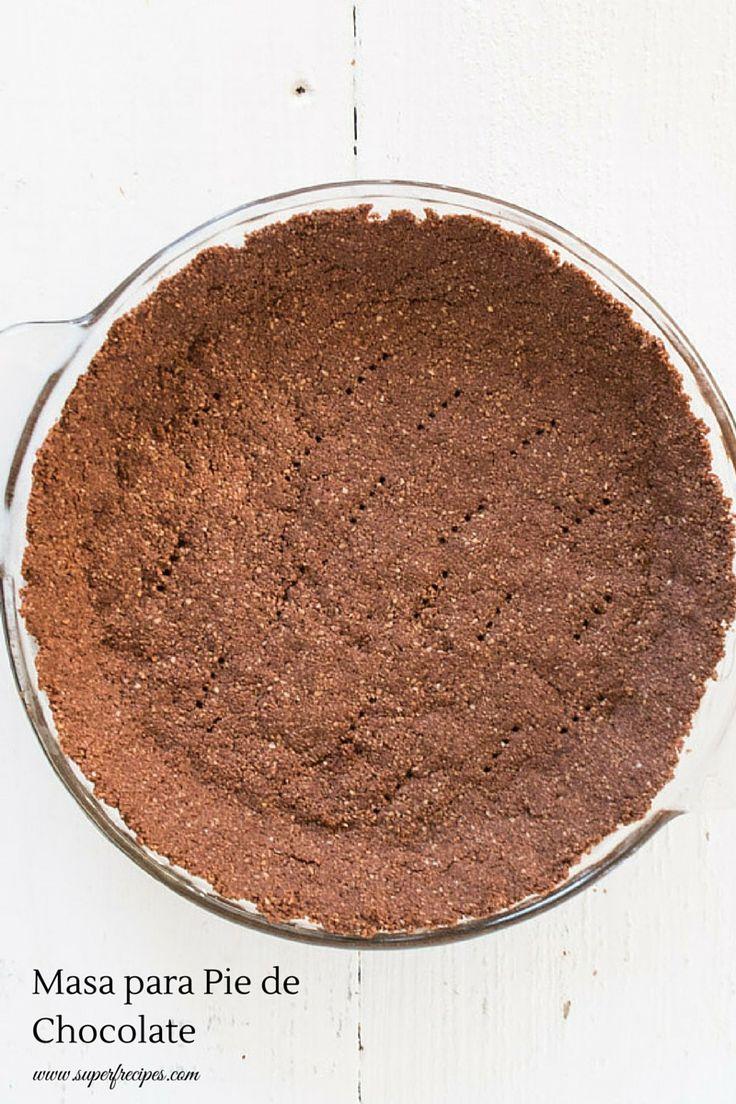 Masa para Pie de Chocolate