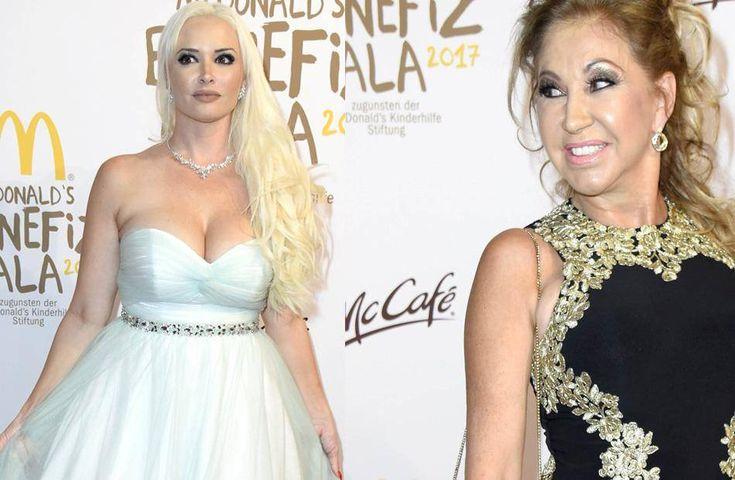 Im Rampenlicht: Daniela Katzenberger und Carmen Geiss (v.l.) bei der McDonald's-Benefiz-Gala.