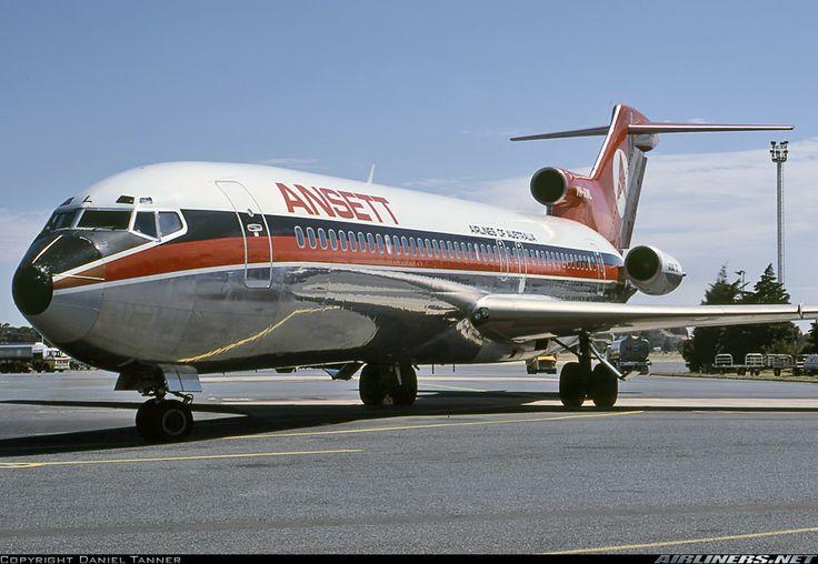 Ansett Airlines of Australia Boeing 727-277/Adv VH-RML at Adelaide-International, December 1979. (Photo: Daniel Tanner)