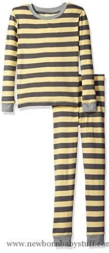 Baby Boy Clothes Burt's Bees Baby Baby Toddler 2 Piece Organic Pj Set, Buttercup Buzzing Bee, 6 Years